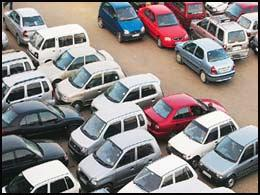 Delhi Metro Car Parking